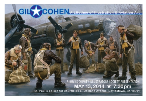 Historical and Aviation Illustrator Gil Cohen to Speak