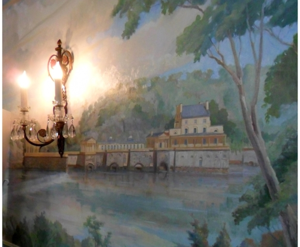 BCiS Special Event:Dot Bunn's Painting of 19th c. Philadelphia at Strawberry Mansion