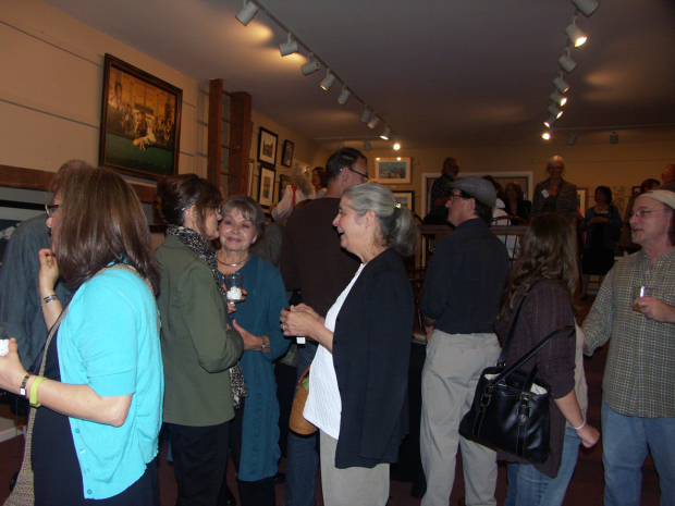 Wonderful Opening Night at Bucks County Illustrators Society Exhibit
