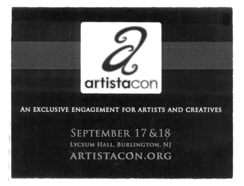 Artistacon Comic Book/Fantasy Conference